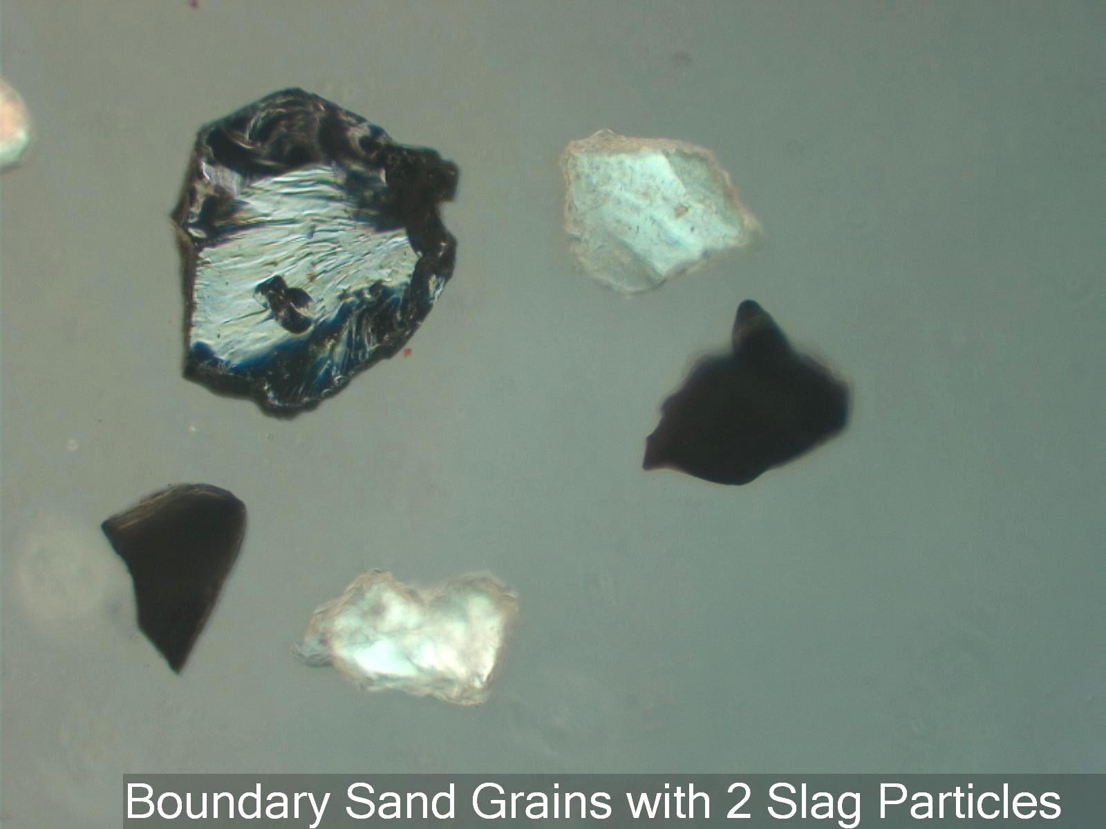 Blast Furnace Slag Glass : Columbia river sand us canada boundary